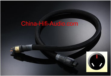 JungSon Deity No.3 Power Cable AU Australian plug for hifi audio
