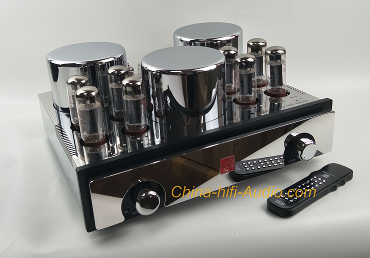 JungSon V-98 pure tube EL34 *8 intergrated amplifier powerful