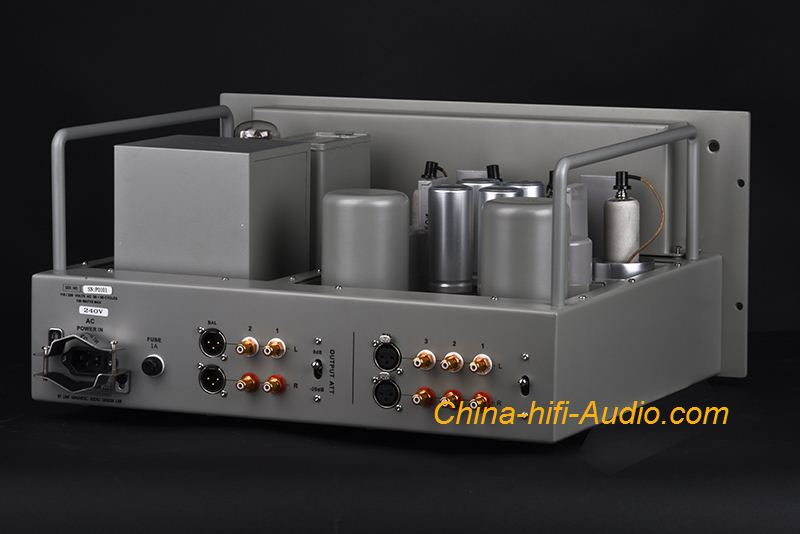Line Magnetic Audio LM-129 tube preamplifier 6J7 x4 Western