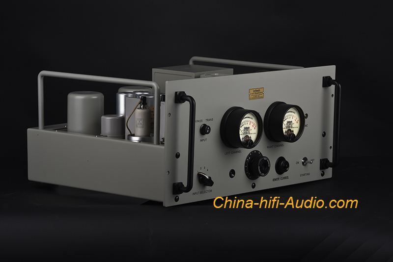 Line Magnetic Audio LM-129 tube preamplifier 6J7 x4 Western Electric replica - Click Image to Close