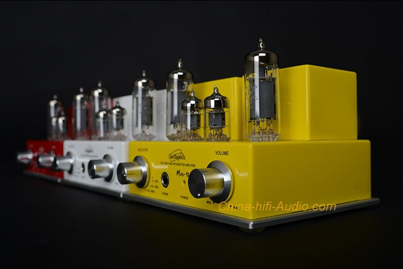 Line Magnetic Mini LM-10IA tube headphone amp Hi-Fi Audio stereo amplifier - Click Image to Close