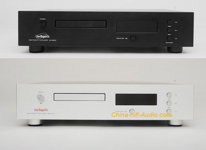 Line Magnetic LM-505CD Hi-Fi Audio tube CD Player with remote control - Click Image to Close