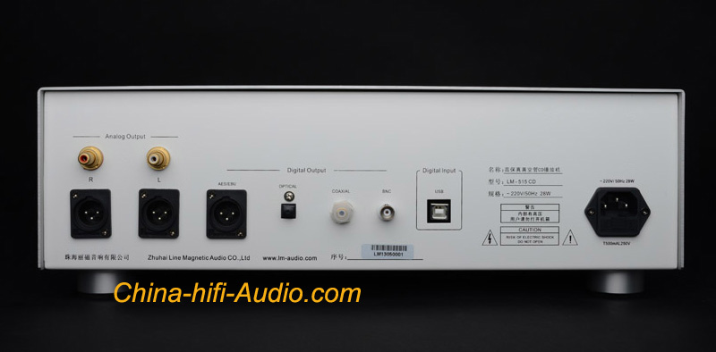 Line Magnetic Audio Lm 515cd Tube Cd Player Amp Usb Dac Xmos