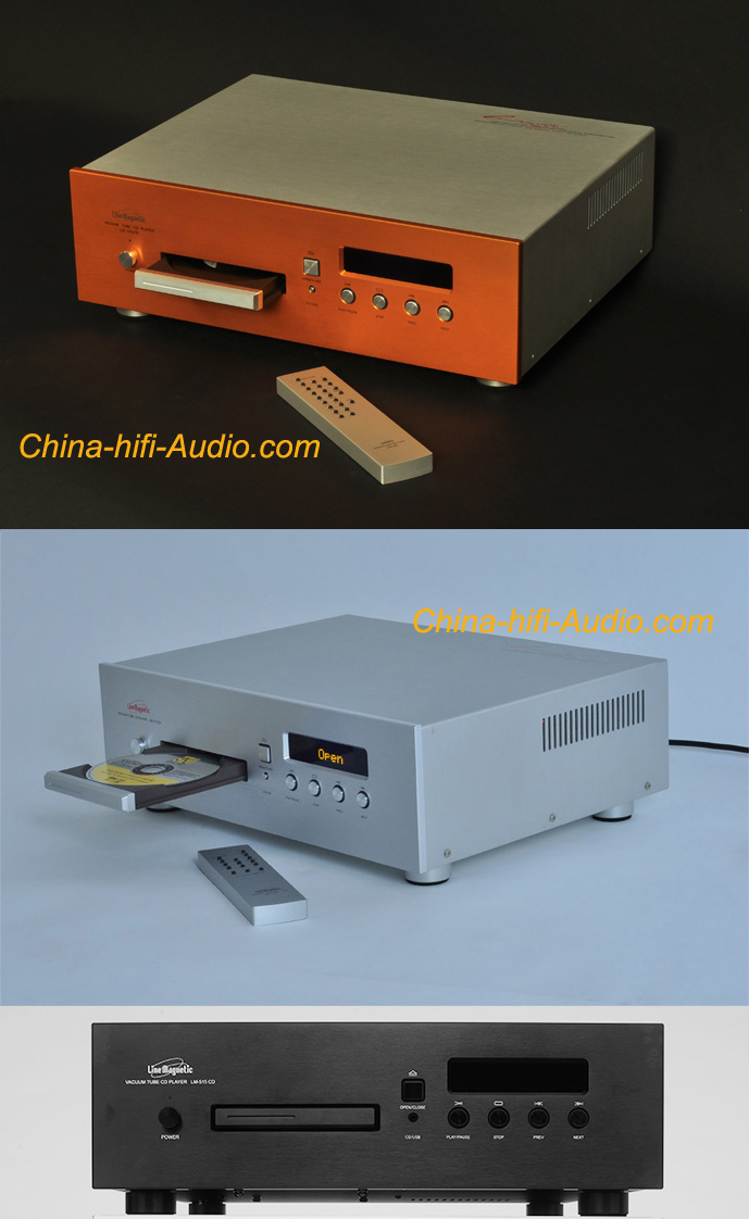 Line Magnetic Audio LM-515CD tube CD player & USB DAC XMOS ATM XLR Balanced - Click Image to Close