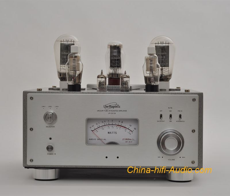 Line Magnetic LM-210IA 300B tube integrated Amplifier Class A single-ended Power