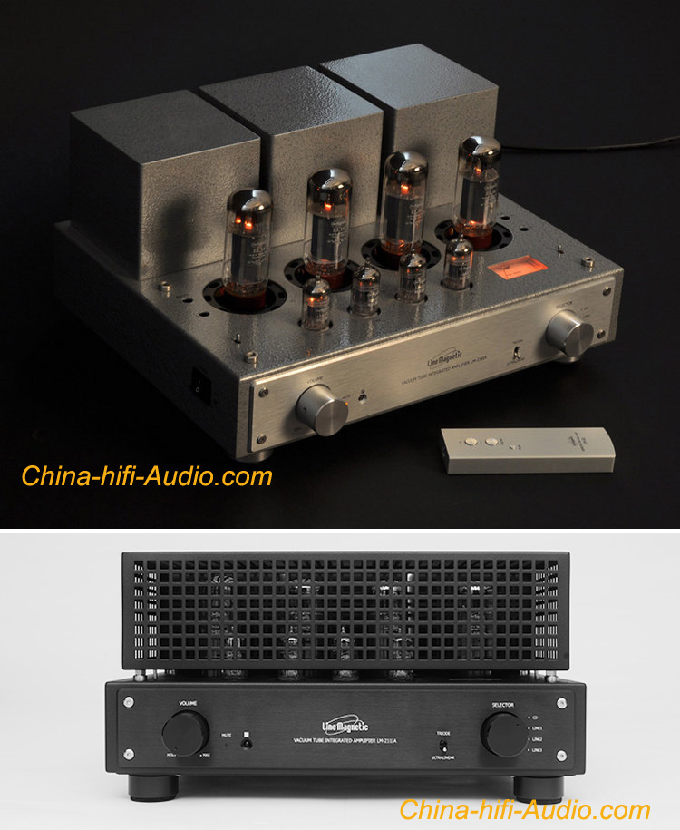 Line Magnetic Audio LM-211IA EL34 x4 tube integrated Amplifier
