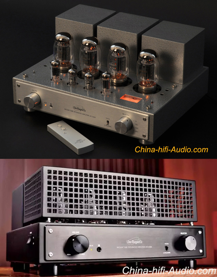 Line Magnetic Audio LM-216IA KT88 x4 tube integrated amplifier