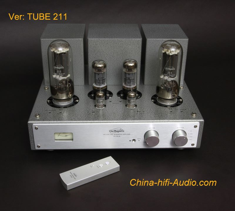 Line Magnetic LM-218IA 211 Tube Class A Single-ended Integrated Amplifier - Click Image to Close