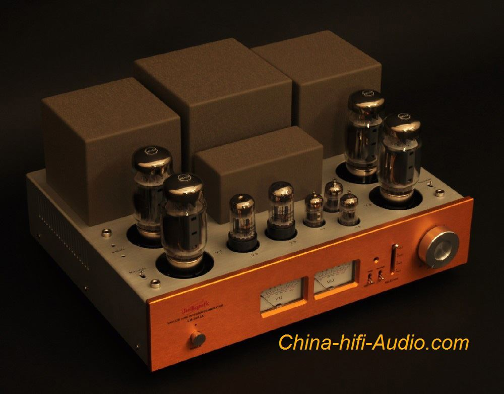 Line Magnetic LM-501IA KT120 tube integrated Amplifier Push-pull Power Amp 100W - Click Image to Close