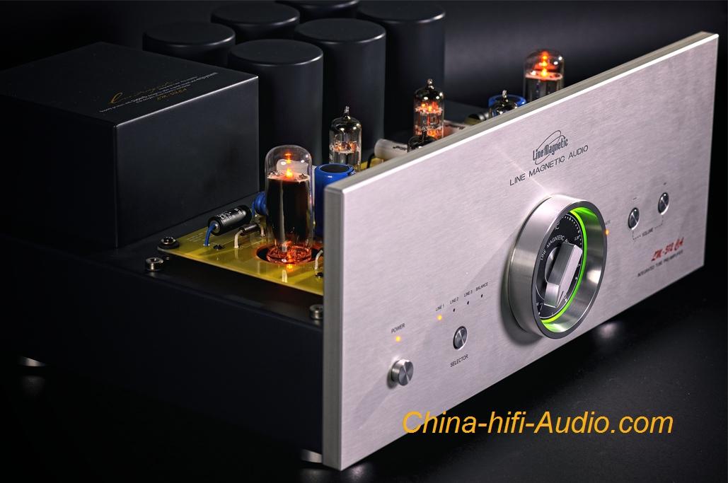 Line Magnetic Lm 512ca Audio Preamplifier Vacuum Tube