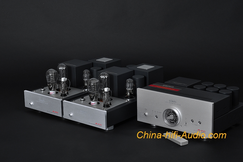 Line Magnetic LM-512CA tube preamp+LM-503PA Dual monoblock power amplifier valve