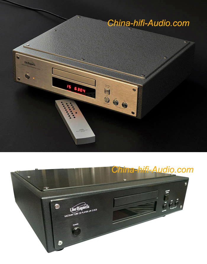 Line magnetic LM-215CD Tube 12AU7 CD Player with remote hi-fi new - Click Image to Close