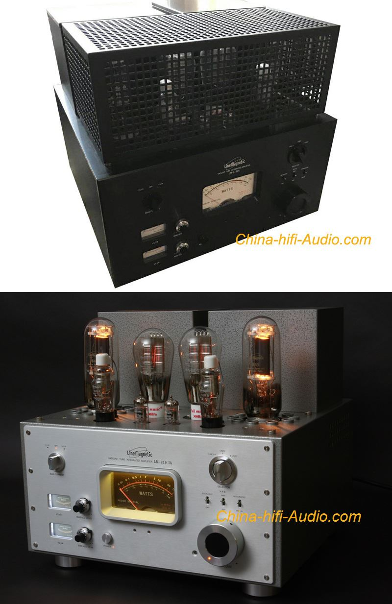 Line Magnetic LM-219IA 300B 845 tube integrated Amplifier Class A single-ended - Click Image to Close