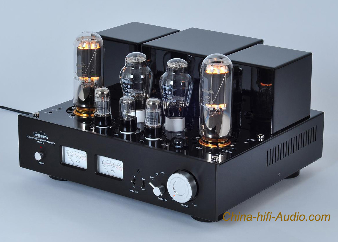 Line magnetic LM-508IA 300B 805 tube Amp Class A single-ended