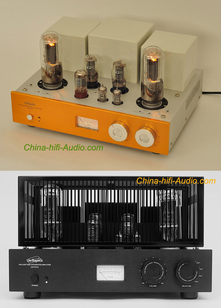 Line magnetic LM-518IA 845 tube amplifier Class A single-ended - Click Image to Close