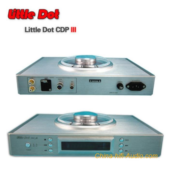 Little Dot CDP_III hifi CD Player Turntable high end with remote control