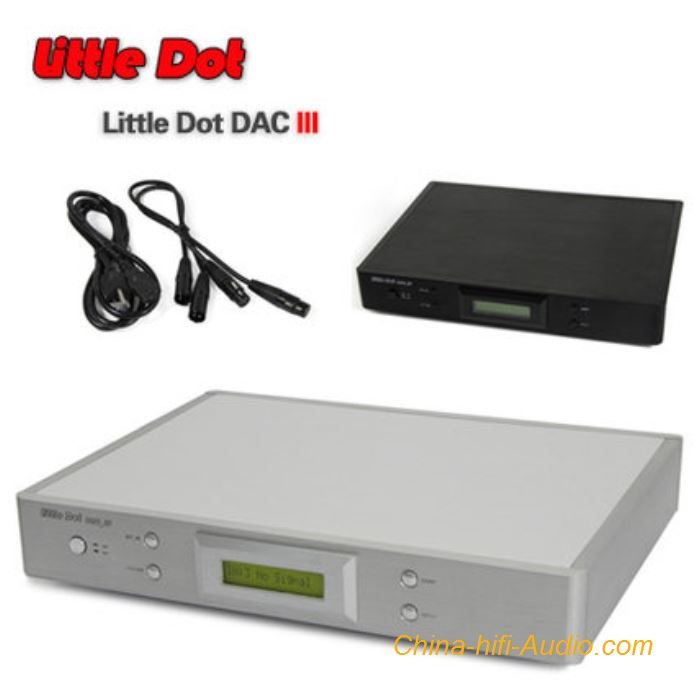 Little Dot DAC_III DAC Full Balanced Digital to Analog Converter Dual WM8741