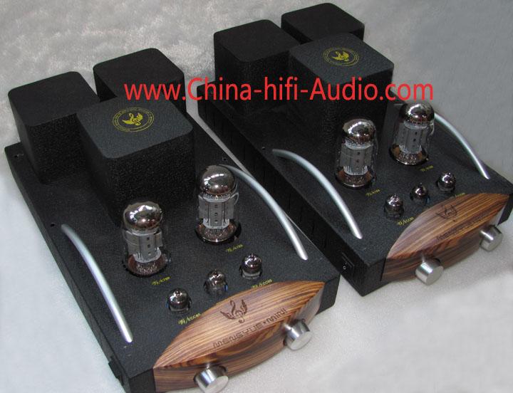 Music Angel M88 KT88 Tube Mono block power amplifier &Integrated