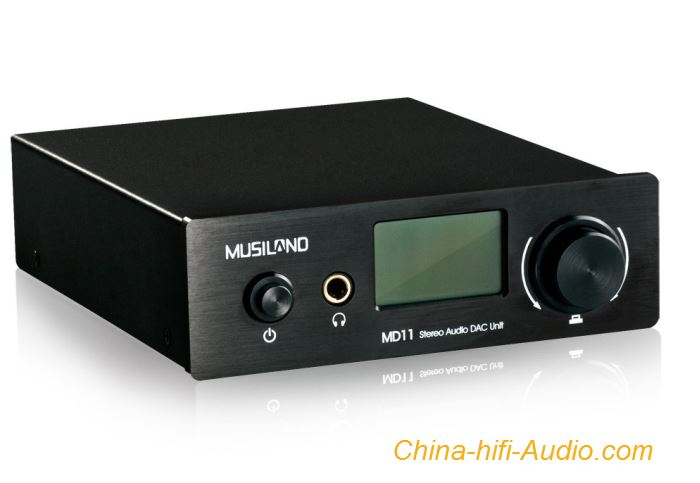 MUSILAND MD11 DAC Digital to Analog Converter MULINK HD Interface LCD Display