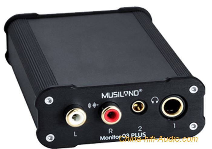 MUSILAND Monitor 03PLUS Sound Card External USB DSD Decode Amp Fiber Coaxial