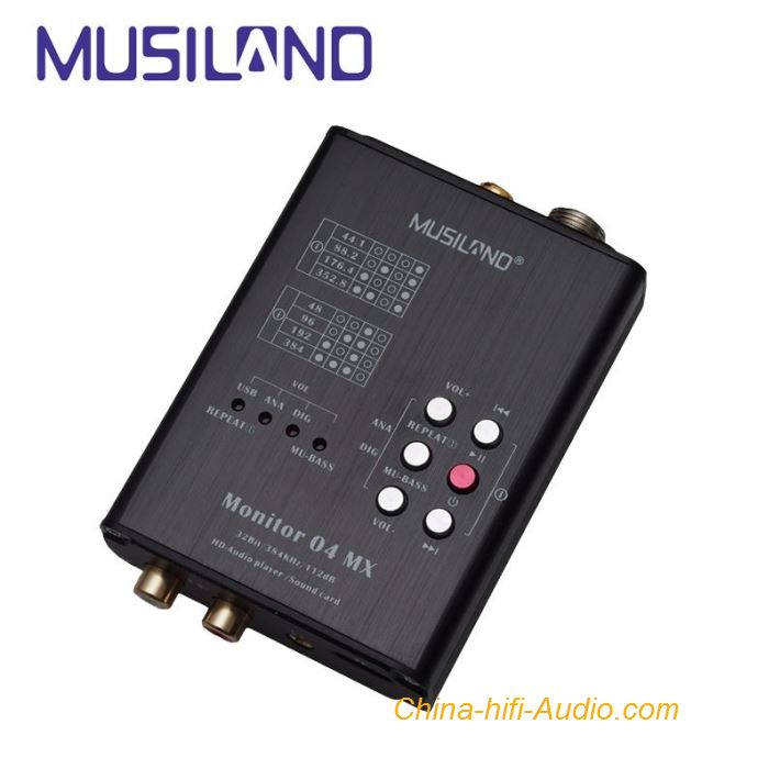 MUSILAND Monitor 04 MX External USB Sound Card HD Digital audio Player Turntable