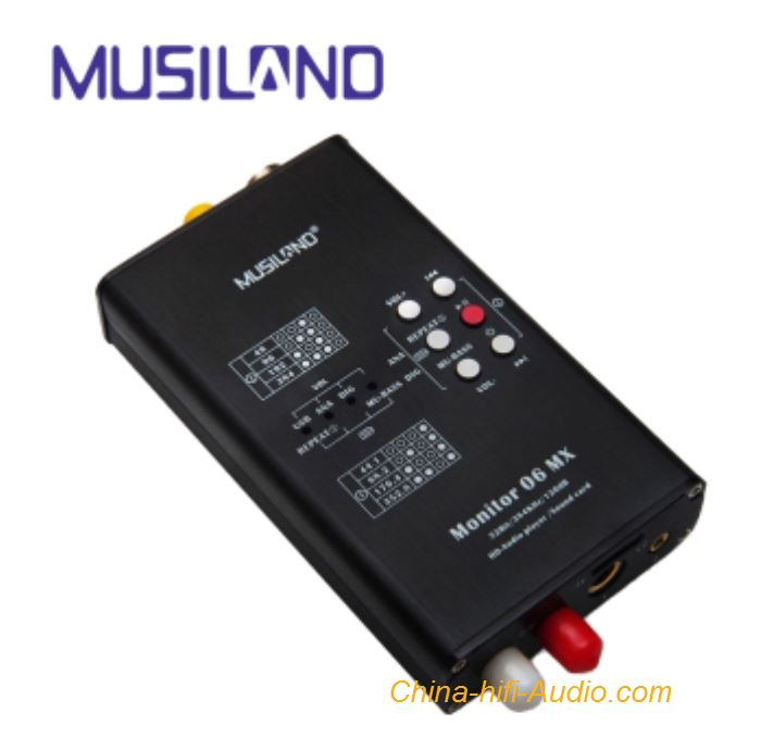 MUSILAND Monitor 06 MX Sound Card External USB HD Audio Player Portable lossless