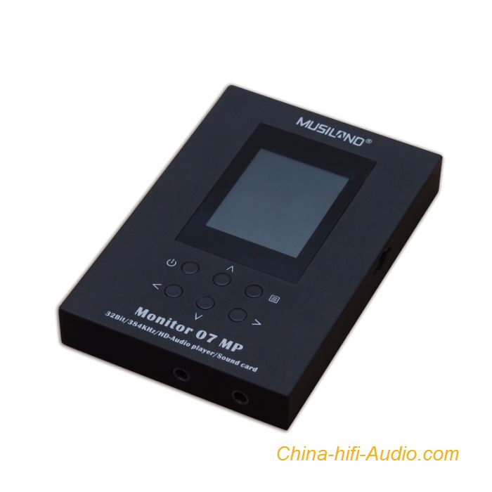 MUSILAND Monitor 07MP DSD audio player portable Externe USB HIFI Sound Card