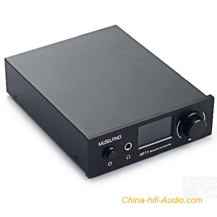 Musiland HP11 Headphone Amplifier intelligent Programming Digital AMP Desktop