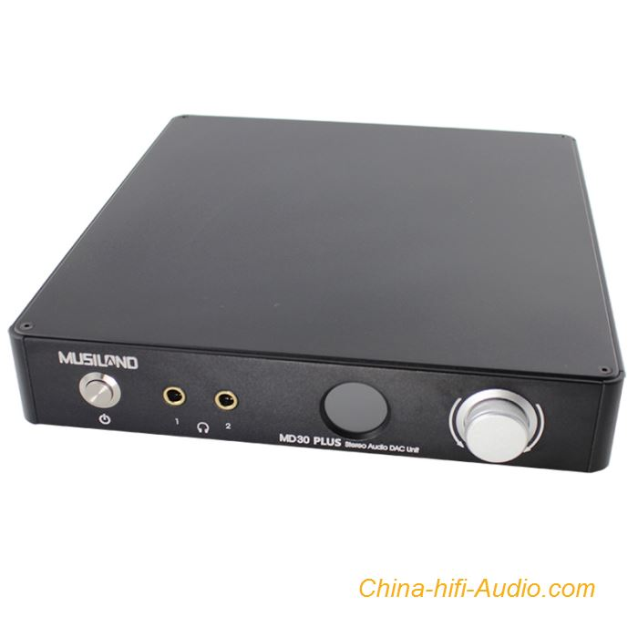 Musiland MD30 PLUS hifi audio DAC Decoder Support DSD128 AD1955 Dual Chip