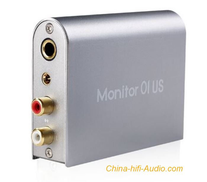 Musiland Monitor 01 US USB External Hifi Sound card Stereo Analog Aluminum