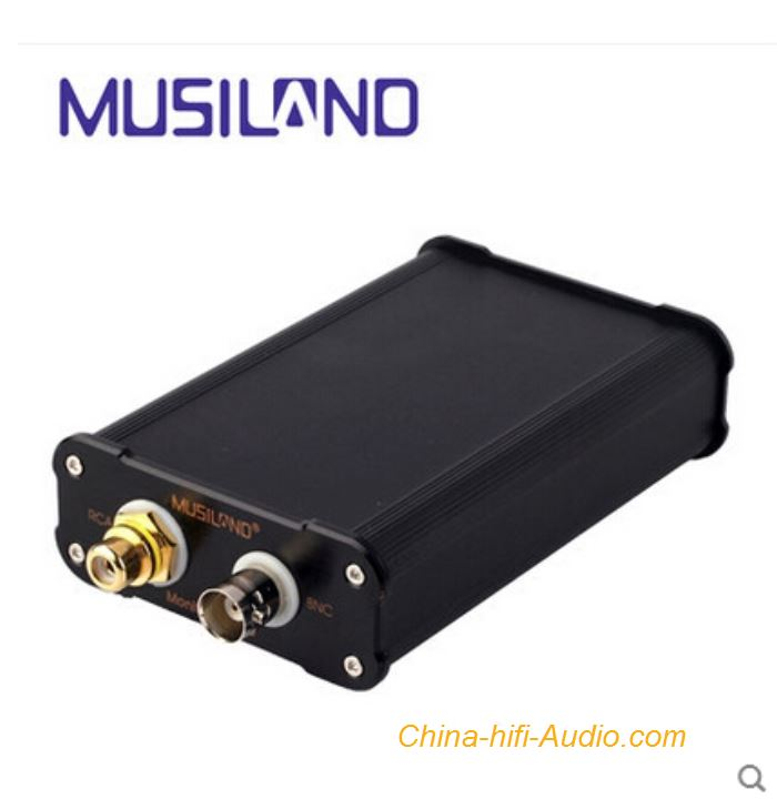 Musiland Monitor 03 USD Sound Card Digital USB2.0 32bit 384kHz Aluminum shell