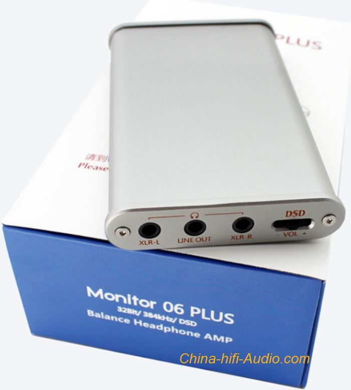 Musiland Monitor 06 PLUS Balanced Headphone Amplifier External Sound Card DSD