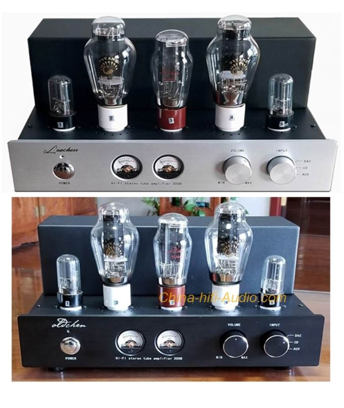 OldChen 300B Tube Amplifier HIFI Single-ended Class A Handmade Scaffolding Amp