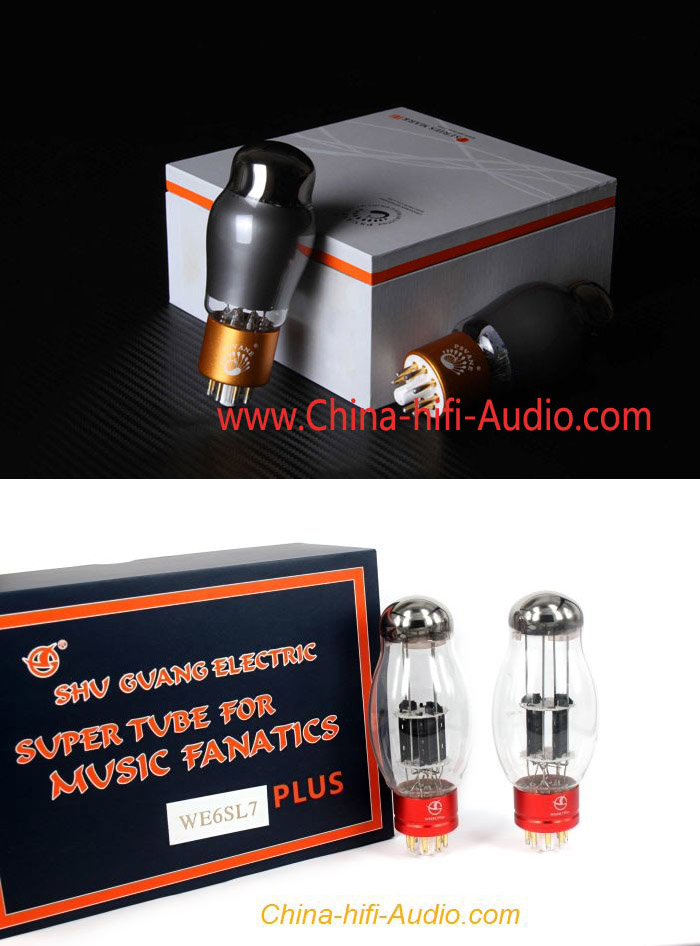 3x PSVANE Vacuum Tube CV181-TII + 2x Shuguang WE6SL7 PLUS best matched for R8