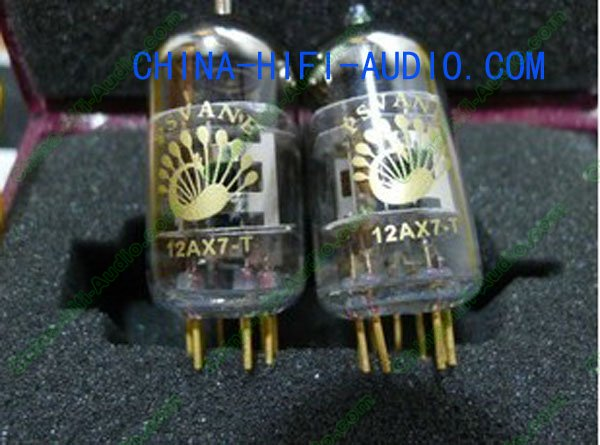 PSVANE Vacuum Tube 12AX7-T T-Collection Grade Matched pair