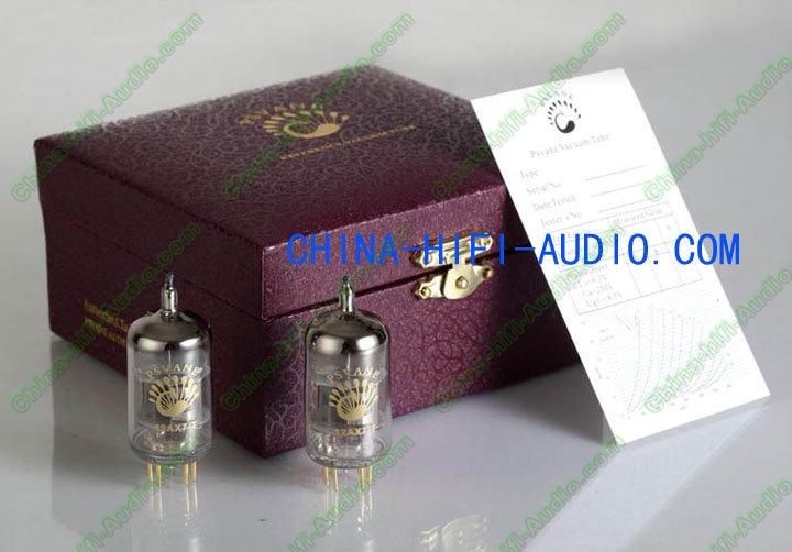 PSVANE Vacuum Tube 12AT7-T T-Collection Grade Matched pair