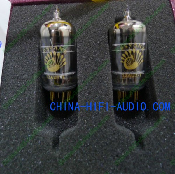 PSVANE Vacuum Tube 12AU7-T T-Collection Grade matched pair