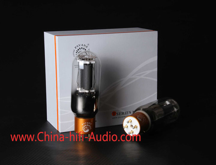 Matched pair PSVANE Vacuum Tube 845-T MK II Collection Gray
