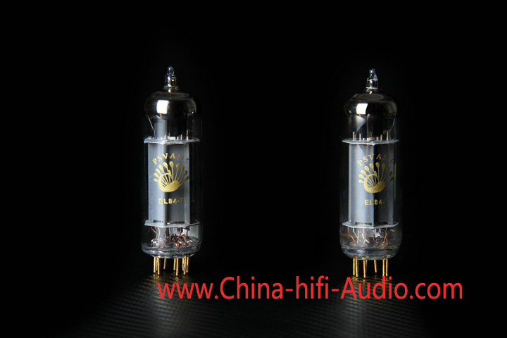 Matched pair PSVANE Vacuum Tube EL84-T MK II Collection Gray