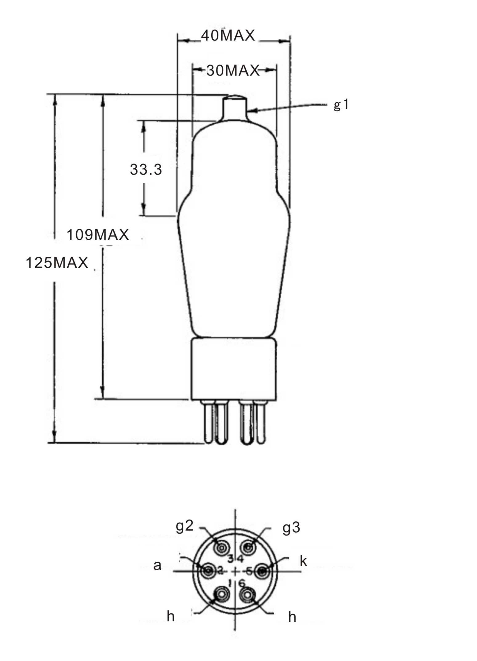 psvane we310a vacuum tubes we western electric replica pair   china