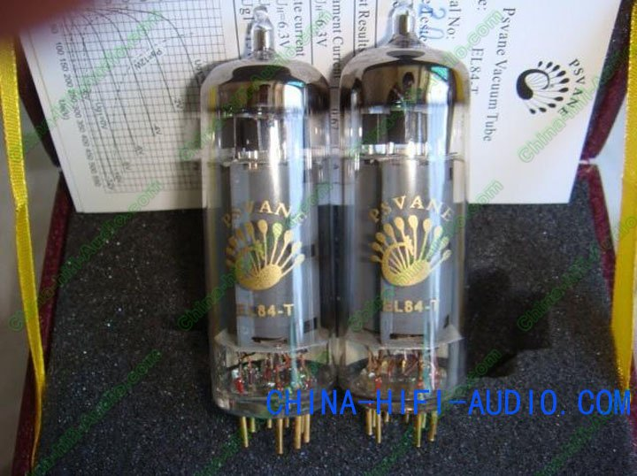 Matched pair PSVANE Vacuum Tube EL84-T T-Collection Grade Hi-end
