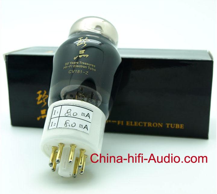 ShuGuang Treasure CV181-Z vacuum tube pair 6SN7=6N8P Premium