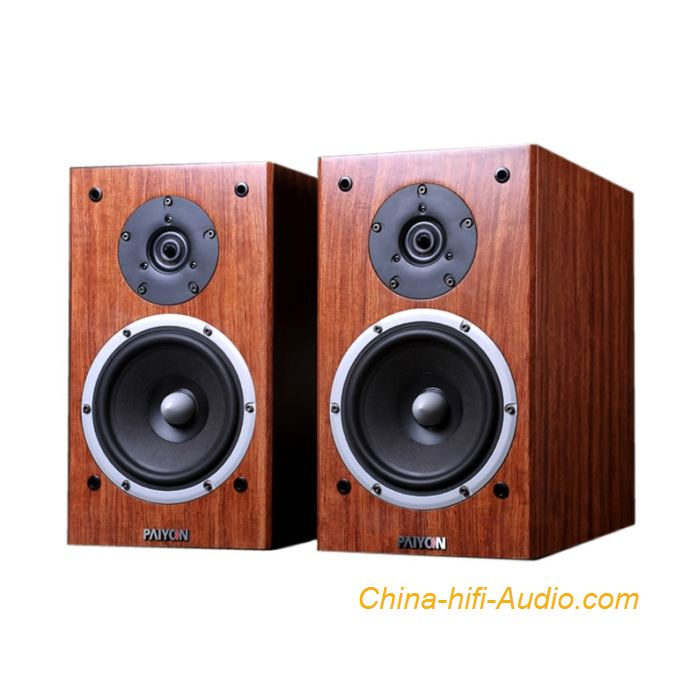 PAIYON P2S HiFi Audio Bookshelf Loudspeakers Full Frequency Passive Speaker Pair