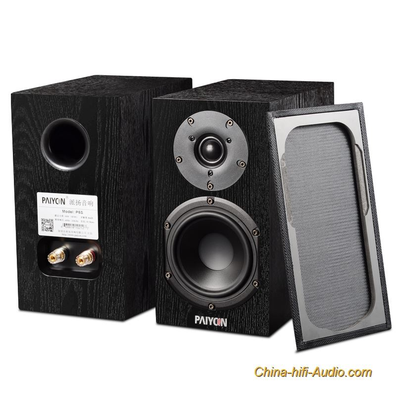PAIYON P5 hifi bookshelf speakers powered speakers 2.0 mini desktop home theater