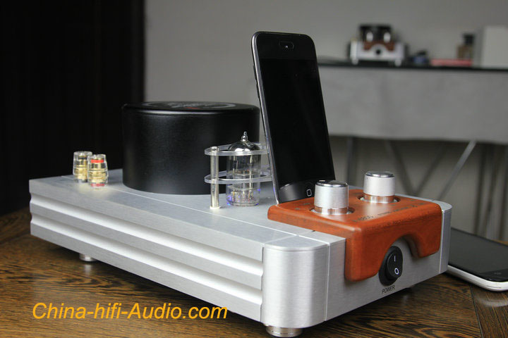Qinpu A-6800 tube amp Bluetooth wireless Amplifier with USB DAC & headphone amp