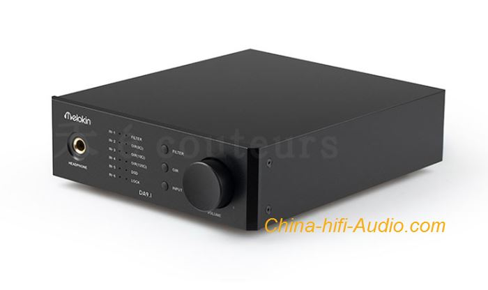 QLS DA9.1 Fever DAC USB Sound Card Ear Amplifier All-in-one HiFi Decoder DSD