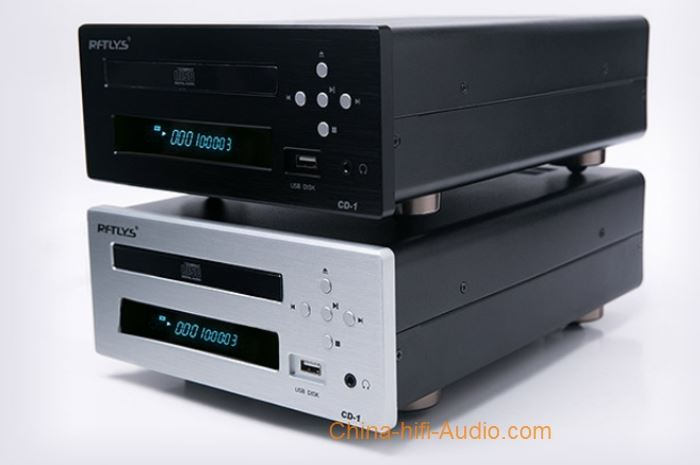 RFTLYS CD1 audiophile CD player desktop U disk Headphone balanced output AK4396