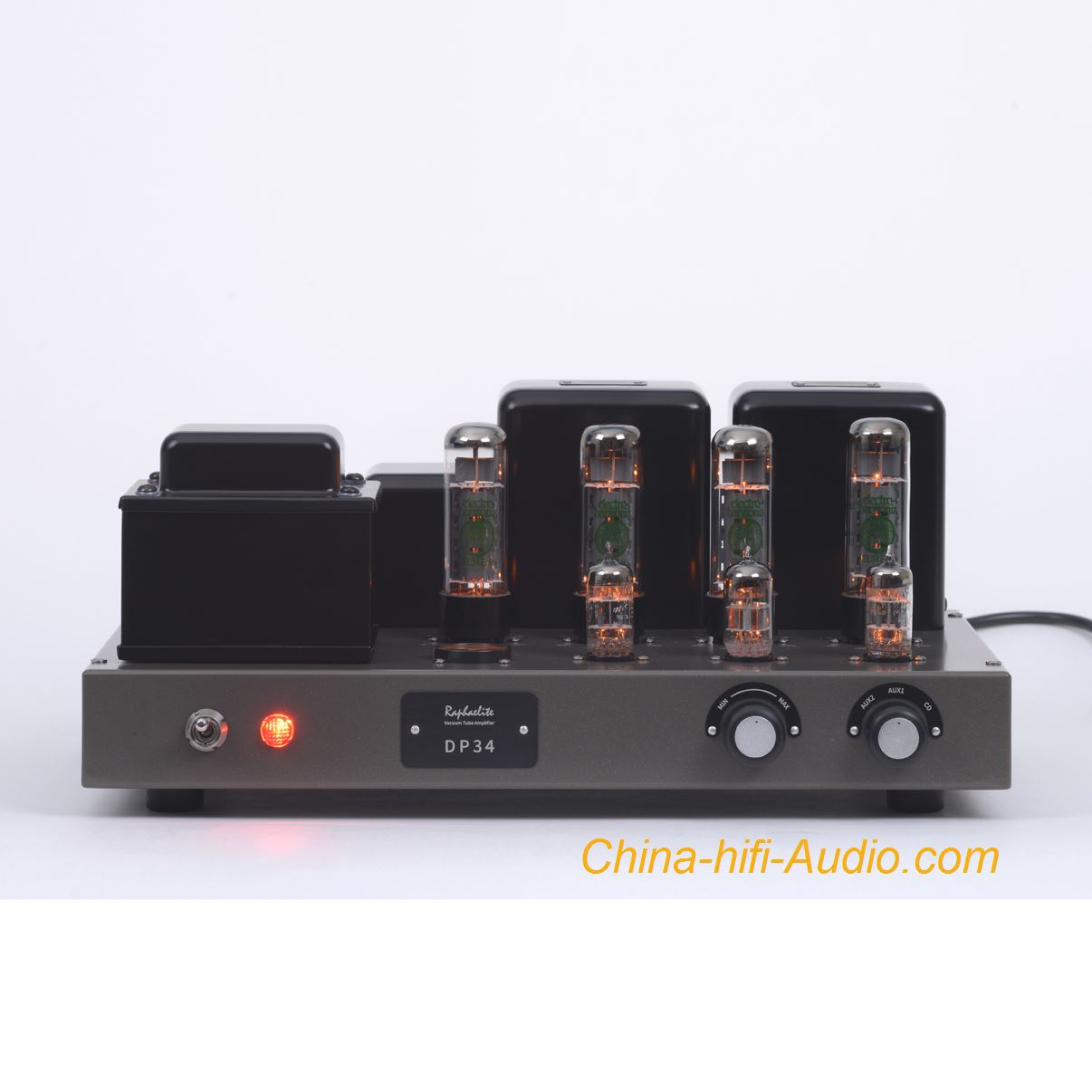 Raphaelite DP34 EL34x4 integrated amplifier HiFi audio stereo tube amp push-pull