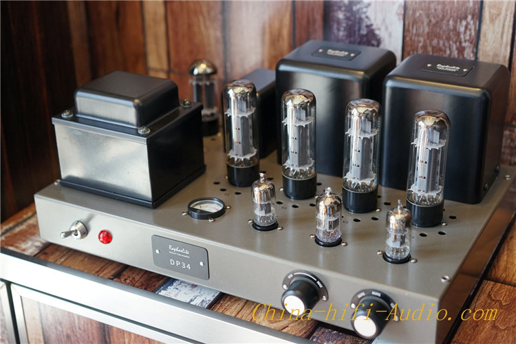 RAPHAELITE DP34-LS35A For LS3/5A Speakers Hi-Fi audio EL34 vacuum Tube Amplifier