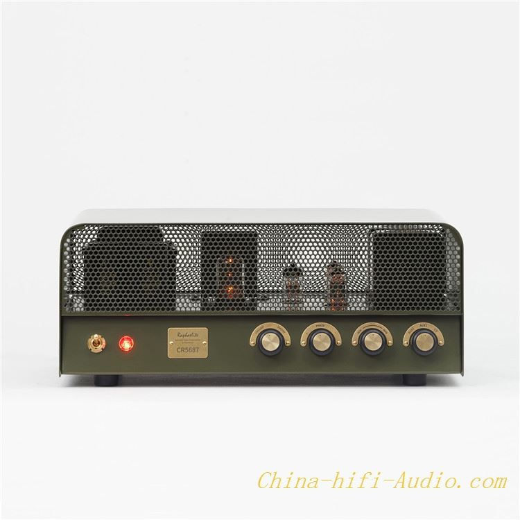 Raphaelite CR5687 vacuum tube Pre-amplifier+Headphone Amplifier hifi Pre amp